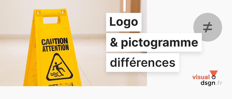 Logo et pictogramme, quelles différences ?