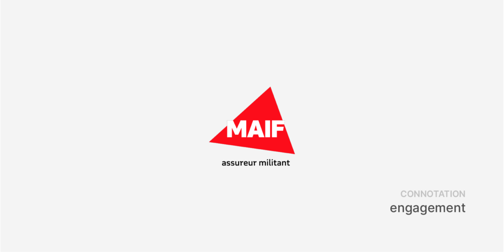 MAIF : logo triangle
