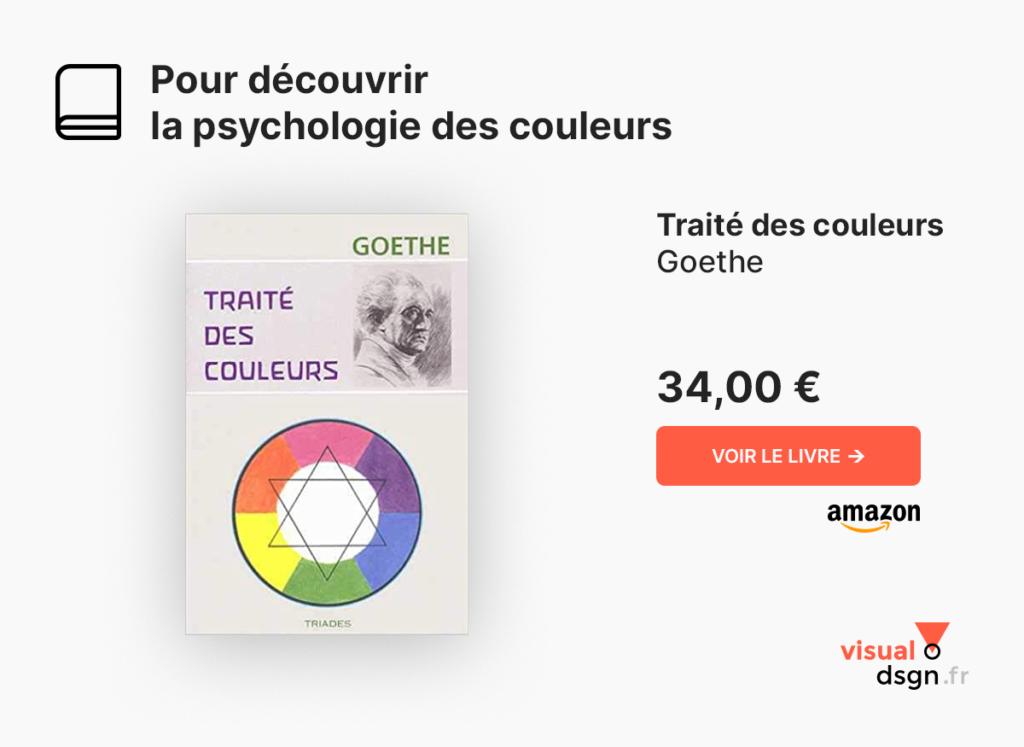 Traité des couleurs, Goethe