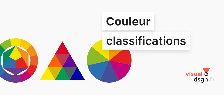 Classification des couleurs à travers le temps