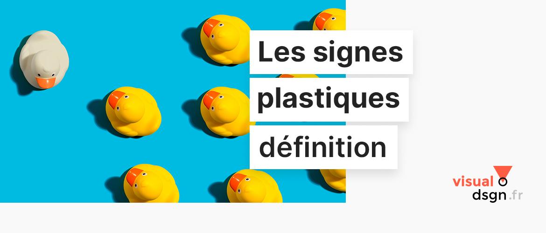 Les signes plastiques en sémiologie visuelle