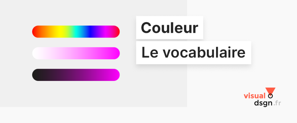 Vocabulaire de la couleur