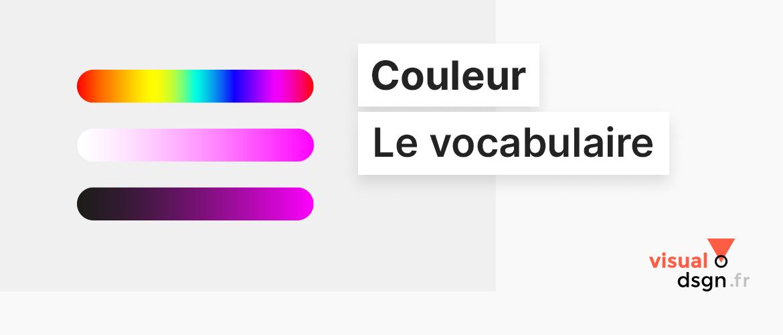 Vocabulaire de la couleur